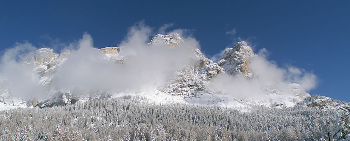 The Seiser Alp in Winter